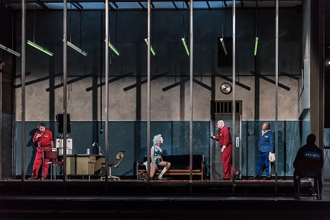 Štefan Margita as Luka Kuzmič, Allison Cook as Prostitute, Johan Reuter as Šiškov, Alexander Kravets as Čerevin .jpg