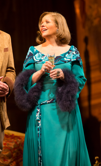 Renée Fleming as Countess Madeleine [Photo by Todd Rosenberg]