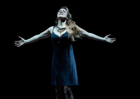 Corinne Winters (Violetta) [Photo by Philip Newton]