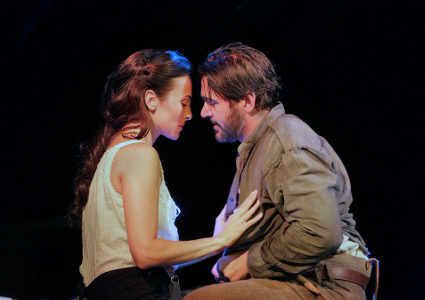 Isabel Leonard as Ada and Nathan Gunn as Inman [Photo by Ken Howard]