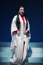 Shu-Ying Li as Cio-Cio-San [Photo by Carol Rosegg courtesy of New York City Opera]