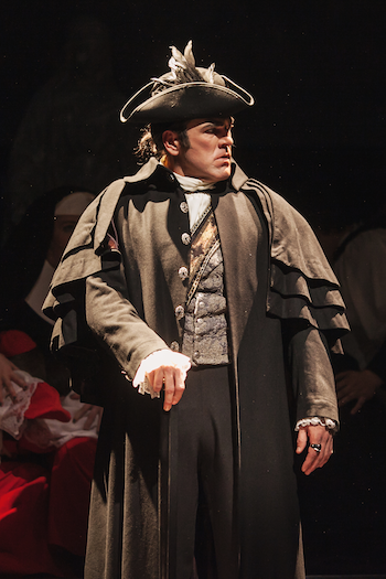Michael Mayes as Scarpia [Photo by Amanda Tipton]
