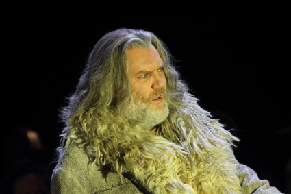 Bryn Terfel as Boris Godunov [Photo by Catherine Ashmore]