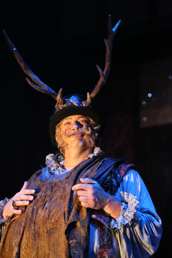 Wayne Tigges as Falstaff [Photo courtesy of DMMO]