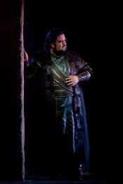Johan Botha as Radames [Photo by Marty Sohl courtesy of The Metropolitan Opera]