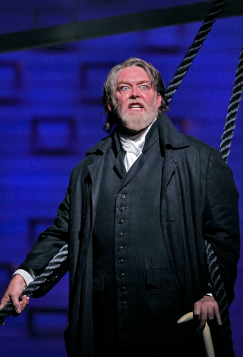 Jay Hunter Morris as Ahab [Photo by Cory Weaver courtesy of San Francisco Opera]