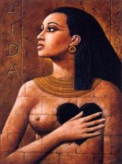 Aida by  Rafal Olbinski
