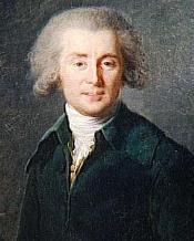 Portrait of André Ernest Modeste Grétry (1741-1813) by Elisabeth Vigée-Lebrun (1785)
