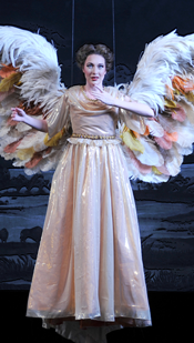 Ava Pine as The Angel in Angels in America (Photo: Ellen Appel)