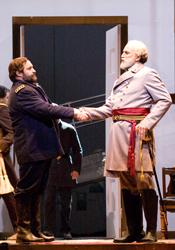 Ulysses S. Grant (Andrew Shore) & Robert E. Lee (Dwayne Croft)