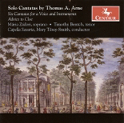 Thomas A. Arne: Solo Cantatas