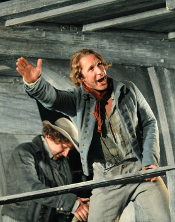 Jacques Imbrailo as Billy Budd [Photo by Alastair Muir]