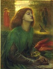 Beata Beatrix by Dante Gabriel Rossetti (1864)