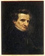 Hector Berlioz Gustave Courbet (1850)
