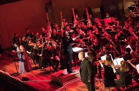 Mark Elder and the National Youth Orchestra perform <em>Duke Bluebeard&#8217;s Castle</em> at the Barbican Hall