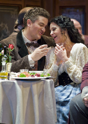 Piotr Beczala (Rodolfo) and Angela Gheorghiu (Mimí) [Photo by ]