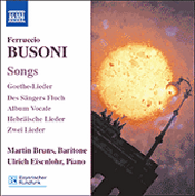 Ferruccio Busoni: Songs