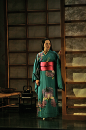 Kelly Kaduce as Madame Butterfly [Photo by Ken Howard courtesy of Opera Theatre of Saint Louis]