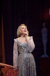 Renée Fleming as Countess Madeleine [Photo by Ken Howard courtesy of The Metropolitan Opera]