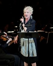 Christine Ebersole [Photo by Erin Baiano courtesy of The Collegiate Chorale]