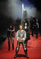 Scene from Tirant lo Blanc [Photo courtesy of Festival Internacional Cervantino]