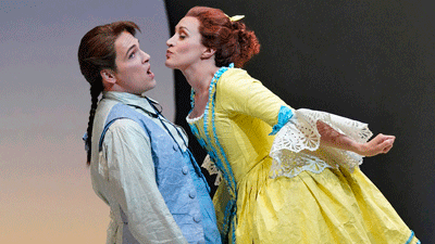 Scene from Candide [Photo courtesy of Santa Fe Opera]