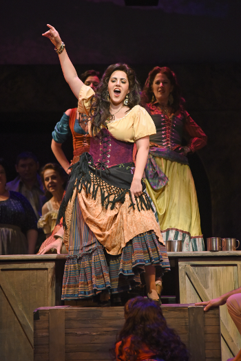 Daniela Mack as Carmen [Photo by Tim Trumble]