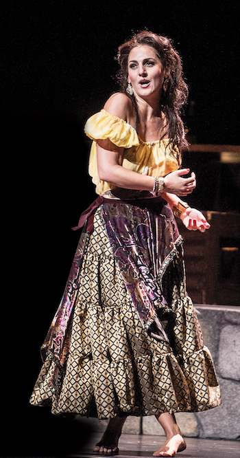 Maya Lahyani as Carmen [Photo courtesy of the Wolftrap Opera, Teddy Wolff]