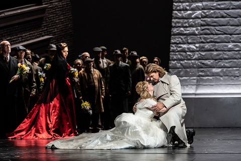 Christine Goerke as Ortrud, Jennifer Davis as Elsa von Brabant, Klaus Florian Vogt as Lohengrin.jpg