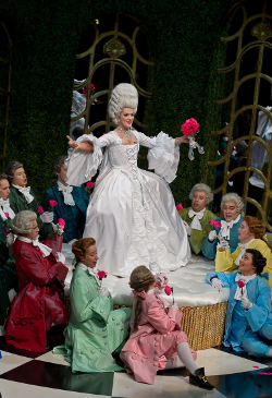 Claudia Boyle as La Comtesse (La cour de Céliméne) [Photo courtesy of Wexford Opera Festival]