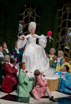Claudia Boyle as La Comtesse (La cour de Céliméne) [Photo courtesy of Wexford Opera Festival]