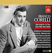 Franco Corelli: His Early Cetra Records
