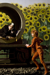 Scene from <em>The Cunning Little Vixen</em> [Photo courtesy of l'Opéra national de Paris]