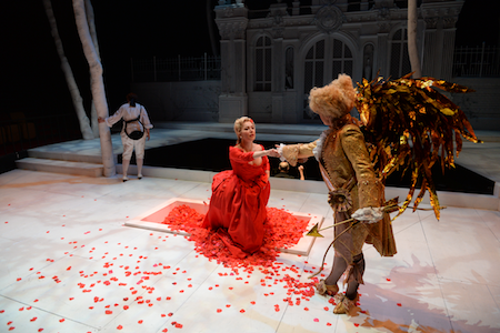 Jennifer Johnson Cano, Susannah Biller and Cree Carrico as Amour [Photo courtesy of DMMO]