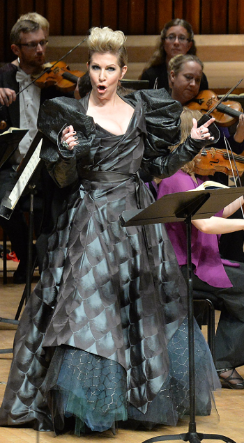 Joyce DiDonato [Photo: MARK ALLAN/BARBICAN]