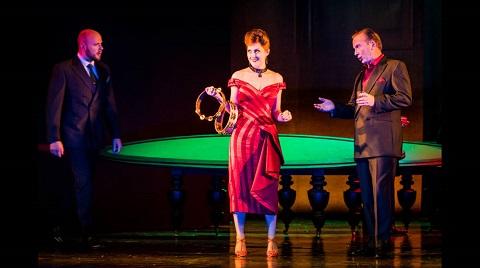 Doctor Grenvil (Donald Thomson), Flora Bervoix (Emma Kerr) and Marchese D'Obigny (John Mackenzie-Lavansch).jpg