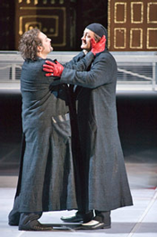 Scene from Doktor Faust (photo courtesy of Bayerische Staatsoper)