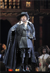 Plácido Domingo as Cyrano de Bergerac [Photo by Cory Weaver courtesy of San Francisco Opera]