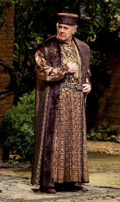 Plácido Domingo as Simon Boccanegra [Photo by Marty Sohl courtesy of The Metropolitan Opera]