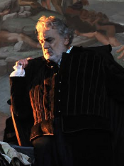 Plácido Domingo as Rigoletto