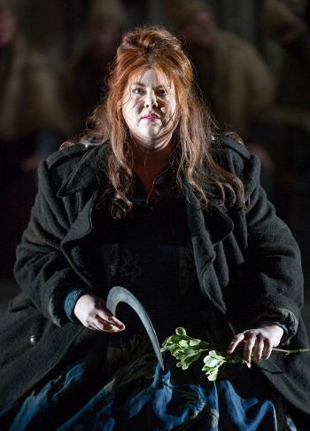 Marjorie Owens as Norma [Photo by Alastair Muir]