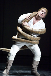 Robert Murray as Tamino [Photo by Richard H Smith courtesy of English National Opera]
