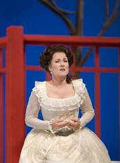 Diana Damrau as Konstanze in Mozart's