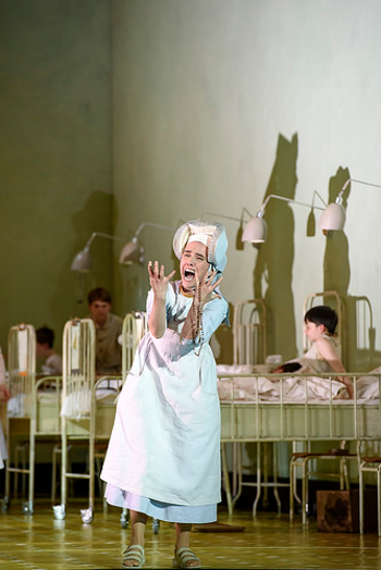 Ermonela Jaho as Sister Angelica in Suor Angelica [Photo © ROH 2016 by Bill Cooper]