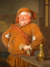 Falstaff by Eduard Theodor Ritter von Grtzner (1925) 