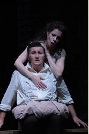 Ana María Martínez (Marguerite) and Piotr Beczala (Faust) [Photo by Dan Rest courtesy of Lyric Opera of Chicago]