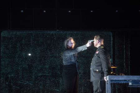 Scene from Act I [Photo by Monika Rittershaus]
