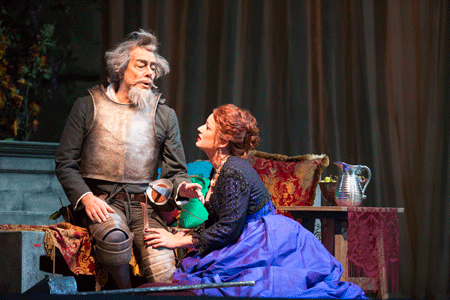Ferruccio Furlanetto and Clementine Margaine [Photo by Todd Rosenberg]