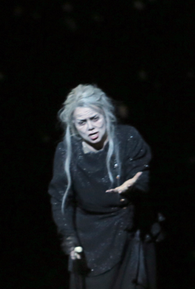 Kathryn Lewek as Queen of the Night [Photo by Pasal Victor courtesy of the Aix Festival]
