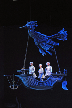 Three boys [Photo by Dan Rest/Lyric Opera of Chicago]